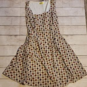 """""""Owl About that Dress"""" Modcloth Owls Size 1X"""